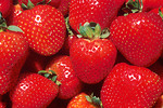Free Stock Photo: Close-up of red strawberries.