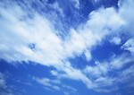 Free Stock Photo: A cloudy blue sky.