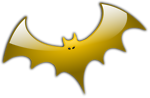 Free Stock Photo: Illustration of a bat.