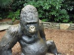 Free Stock Photo: Gorilla statue.