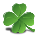 Free Stock Photo: Illustration of a four leaf clover.