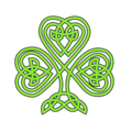 Free Stock Photo: Illustration of a shamrock.