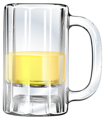 Free Stock Photo: Illustration of a mug of beer.