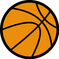 Free Stock Photo: Illustration of a basketball.
