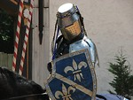Free Stock Photo: Knight on horse during jousting competition at 2008 Georgia Renaissance Festival.