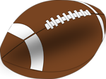 Free Stock Photo: Illustration of a football with a transparent background.