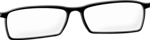 Free Stock Photo: Illustration of a pair of glasses with a transparent background.
