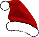 Free Stock Photo: Illustration of a red santa hat with a transparent background.