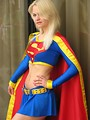 Free Stock Photo: Beautiful woman in a Supergirl costume at Dragoncon 2008.
