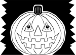 Free Stock Photo: Illustration of a jack-o-lantern.