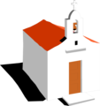 Free Stock Photo: Illustration of a mission church.