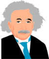 Free Stock Photo: Illustration of Albert Einstein.