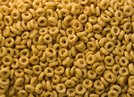 Free Stock Photo: Close-up of round breakfast cereal.
