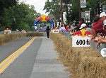 Free Stock Photo: Race track at the 2009 Red Bull Soap Box Derby in Atlanta, Georgia.