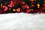 Free Stock Photo: Snow and Christmas background.
