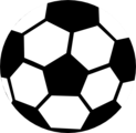 Free Stock Photo: Illustration of a soccer ball.