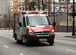Free Stock Photo: An ambulance in the 2010 Atlanta Saint Patrick