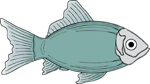 Free Stock Photo: Illustration of a fish