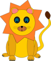 Free Stock Photo: Illustration of a cartoon lion