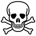 Free Stock Photo: Skull and crossbones illustration