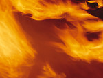 Free Stock Photo: Close-up of a burning flame
