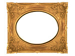Free Stock Photo: A blank picture frame.
