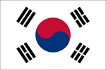 Free Stock Photo: Illustration of a South Korean flag