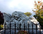 Free Stock Photo: The Lion of Atlanta statue at historic Oakland Cemetery in Atlanta, Georgia
