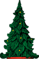 Free Stock Photo: Illustration of a Christmas tree