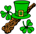 Free Stock Photo: Illustration of a Saint Patrick