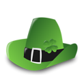 Free Stock Photo: Illustration of a Saint Patrick's Day hat.