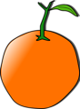 Free Stock Photo: Illustration of an orange