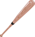 Free Stock Photo: Illustration of a baseball bat.