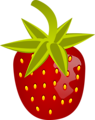 Free Stock Photo: Illustration of a strawberry