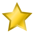 Free Stock Photo: Illustration of a gold star