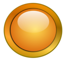 Free Stock Photo: Illustration of a blank glossy round button