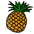 Free Stock Photo: Illustration of a pineapple