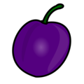 Free Stock Photo: Illustration of a plum