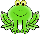 Free Stock Photo: Illustration of a cartoon frog