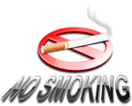 Free Stock Photo: Illustration of a no smoking symbol