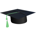 Free Stock Photo: Illustration of a graduation cap