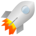 Free Stock Photo: Illustration of a rocket