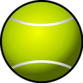 Free Stock Photo: Illustration of a tennis ball