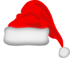Free Stock Photo: Illustration of a red santa hat