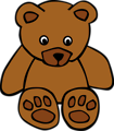 Free Stock Photo: Illustration of a teddy bear