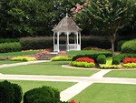 Free Stock Photo: Garden gazebo at the Antebellum Plantation