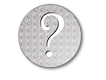 Free Stock Photo: Illustration of a question mark button