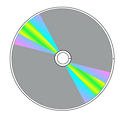 Free Stock Photo: Illustration of a compact disc