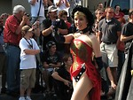 Free Stock Photo: Girl in Wonder Woman costume at 2008 Dragoncon parade
