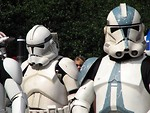 Free Stock Photo: Clone Troopers marching in the 2008 Dragoncon parade